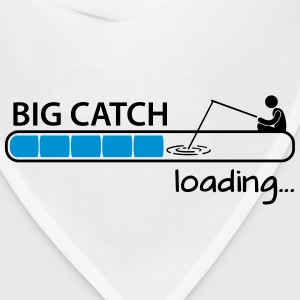 Fishing: big catch loading T-Shirts - Bandana