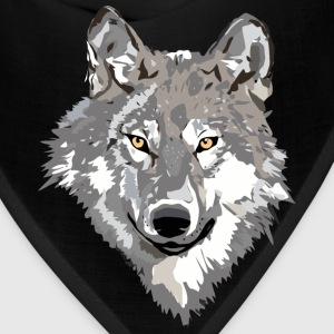 Gray Wolf Design - Bandana