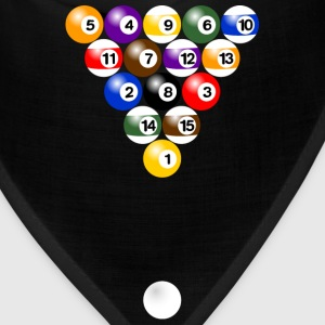 Billiard balls formation Shirt - Bandana