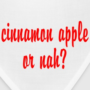 CINNAMON APPLE OR NAH Hoodies - Bandana