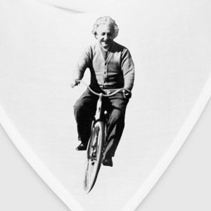 Albert Einstein on a Bike T-Shirts - Bandana