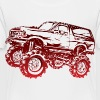 Mega Mud Ford Bronco Red Kids' Shirts - Toddler Premium T-Shirt