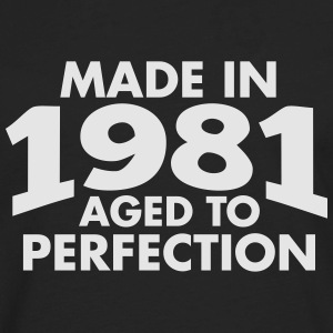 Made in 1981 Teesome Hoodies - Men's Premium Long Sleeve T-Shirt
