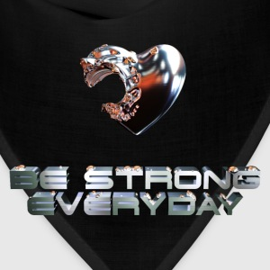 Be Strong Everyday Men's T-Shirt - Bandana