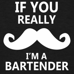 BARTENDER Hoodies - Men's T-Shirt