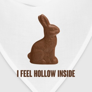 I Feel Hollow Inside Chocolate Easter Bunny T-Shirts - Bandana