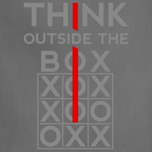 Think Outside The Box Hoodies - Adjustable Apron