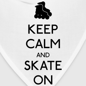 Keep Calm skate on Tanks - Bandana