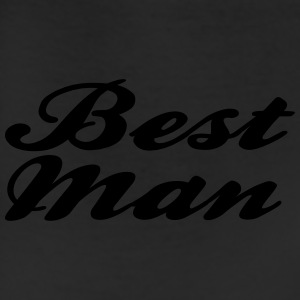 Best Man Script design Caps - Leggings