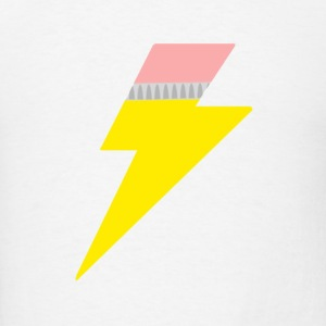 Pencil Bolt Buttons - Men's T-Shirt