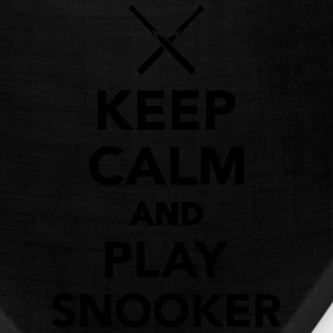 Keep calm and Play Snooker T-Shirts - Bandana