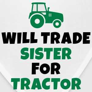 Will trade sister for tractor Kids' Shirts - Bandana