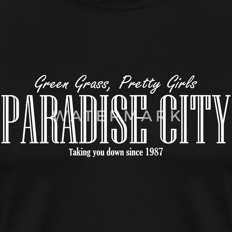 Paradise City T-Shirts - Men's Premium T-Shirt