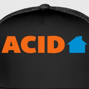 Acid House  Women's T-Shirts - Trucker Cap