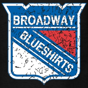 Broadway Hockey Blue Shirts NYC Bags & backpacks - Men's T-Shirt