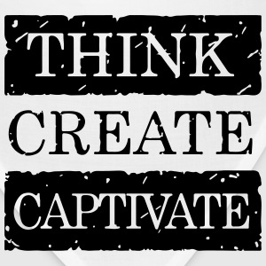 Think Create Captivate - Bandana