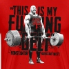 THIS IS MY FUCKING BELT! Konstantin Konstantinov T-Shirts - Men's Premium T-Shirt