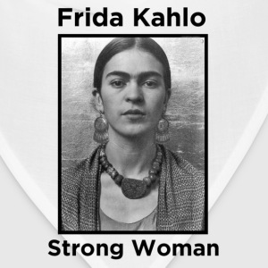 Frida Kahlo Strong Woman 2 Women's T-Shirts - Bandana