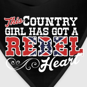 Country Girl with a Rebel Heart - Bandana
