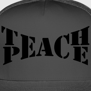 Teach Peace Women's T-Shirts - Trucker Cap