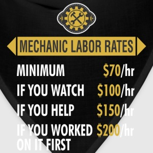 Mechanic Labor Rates - Bandana