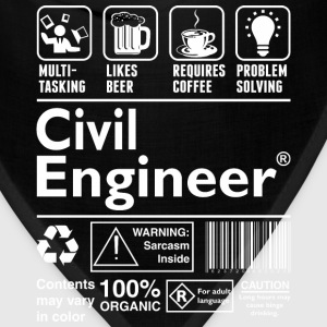 Beer Require Coffee Problem Solving Civil Engineer - Bandana