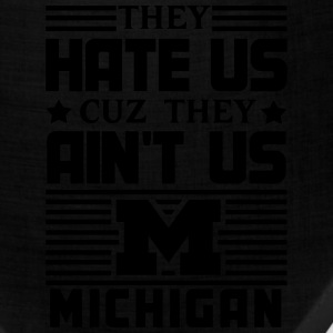 Hate Us Cuz They Ain't Us - Michigan T-Shirts - Bandana