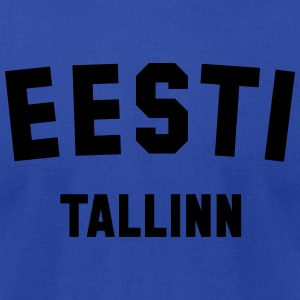 ESTONIA TALLINN - Men's T-Shirt by American Apparel