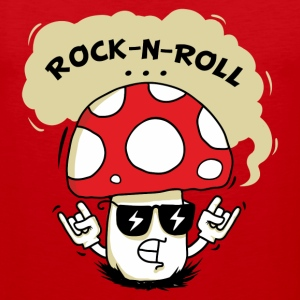 Rock-n-Roll Mushroom - Men's Premium Tank