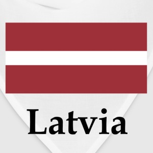 Latvia Flag - Bandana