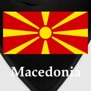 Macedonia Flag T-Shirts - Bandana
