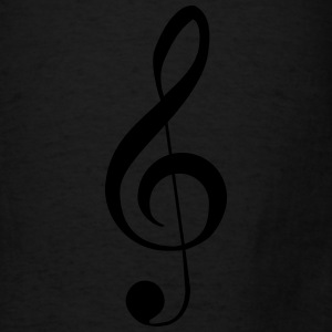 Clef Music Notes Bags & backpacks - Men's T-Shirt