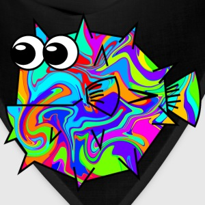 Colouful Pufferfish T-Shirts - Bandana