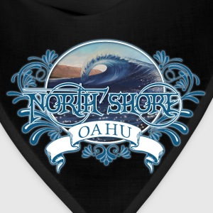 North Shore Oahu T-Shirts - Bandana