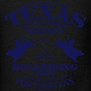 Texas Bullriding Rodeo - The Lone Star State Long Sleeve Shirts - Men's T-Shirt