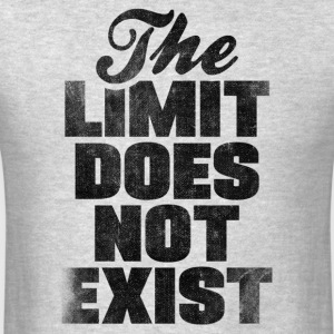 The Limit Does Not Exist Tank Tops - Men's T-Shirt