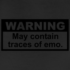 Warning: May contain traces of Emo T-SHIRT - Leggings