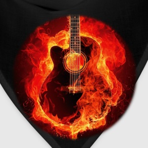 Guitar on Fire T-Shirts - Bandana