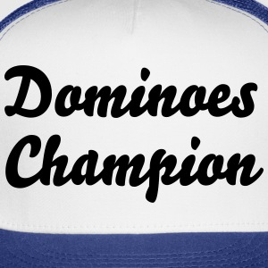 dominoes champion t-shirt - Trucker Cap