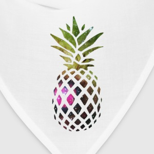 Galaxy Pineapple T-Shirts - Bandana