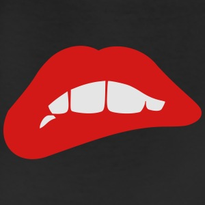 Biting Red Lips T-Shirts - Leggings