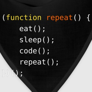 Eat, Sleep, Code, Repeat - Bandana