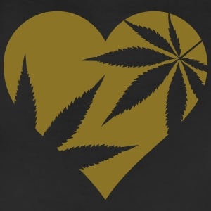 cannabis love Polo Shirts - Leggings