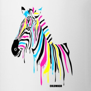 RAINBOW ZEBRA - Coffee/Tea Mug