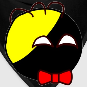 Anarchyball ancap with red bow tie sticker tucker - Bandana