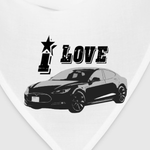 Tesla Model S T-Shirts - Bandana