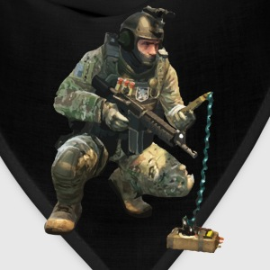 DEFUSiNG CT CS:GO T-SHIRT MEN - Bandana