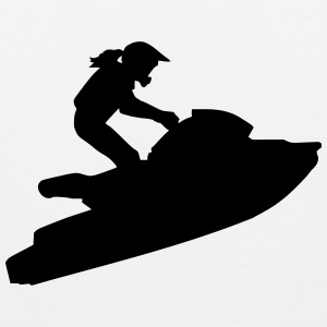 Jetski Women's T-Shirts - Men's Premium Tank