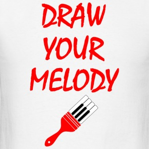 Melody brush Sportswear - Men's T-Shirt