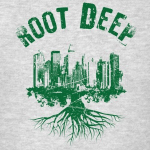 Root deep urban green Sportswear - Men's T-Shirt